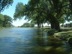 River in Errill, Kansas