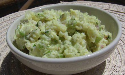 Potato Salad, the Vegan Way