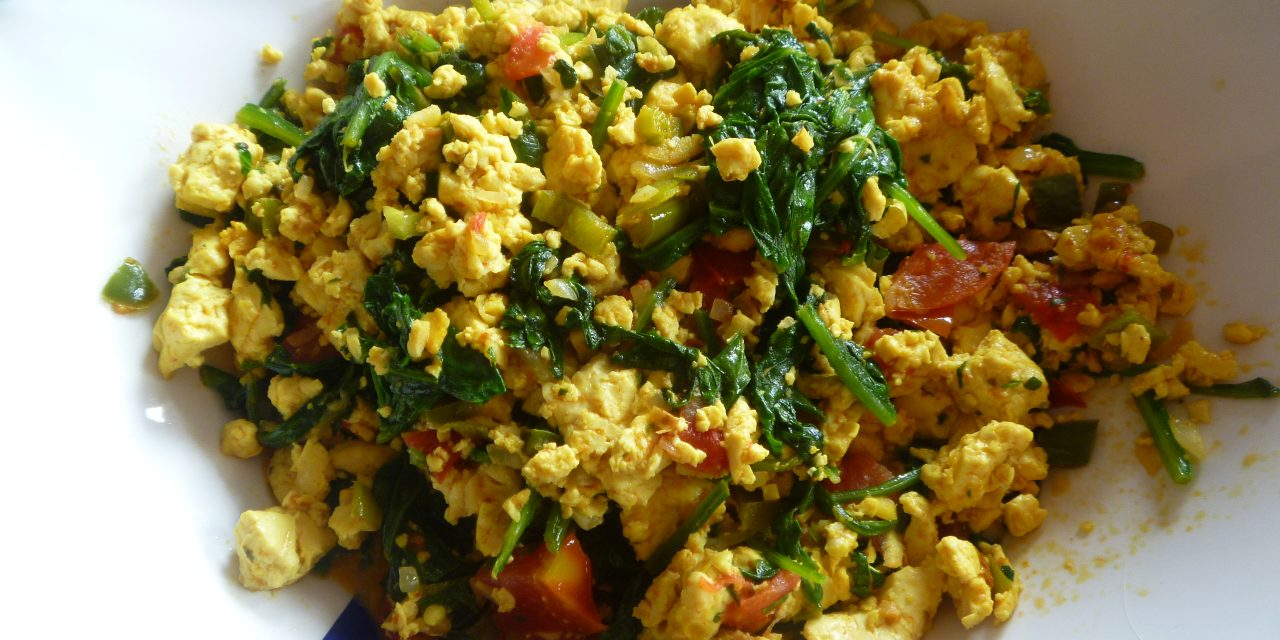 A Recipe a Day: Tofu Scramble