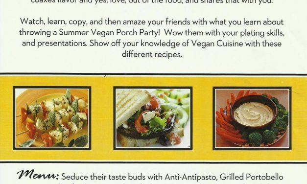 Summer Vegan Porch Party