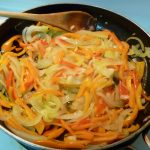 Cooking up a Storm: Peppers and Onions in the Pan