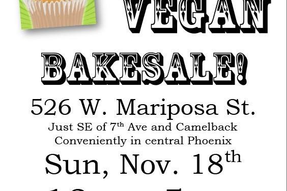 Vegan Bake Sale, Again!