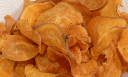 Late Night Snack Attack: Crunchy Sweet Potato Chips
