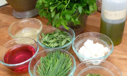 Fresh and Lively Herb Vinaigrette