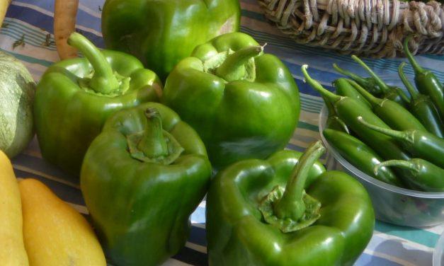 How to cut a green pepper