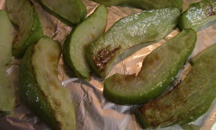 Roasted Chayote