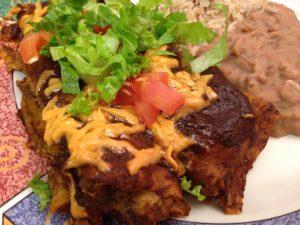Ancho Chili Enchiladas
