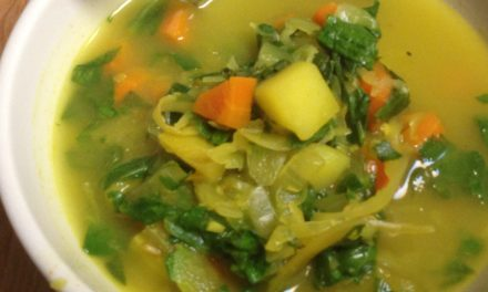 End of the Week Soup: Cabbage and Potatoes