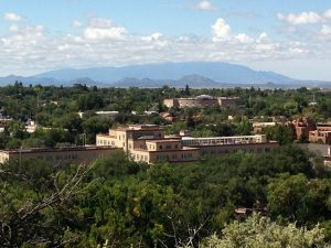 View of Santa Fe