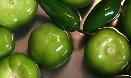 Beware the heat! Tomatillo Sauce