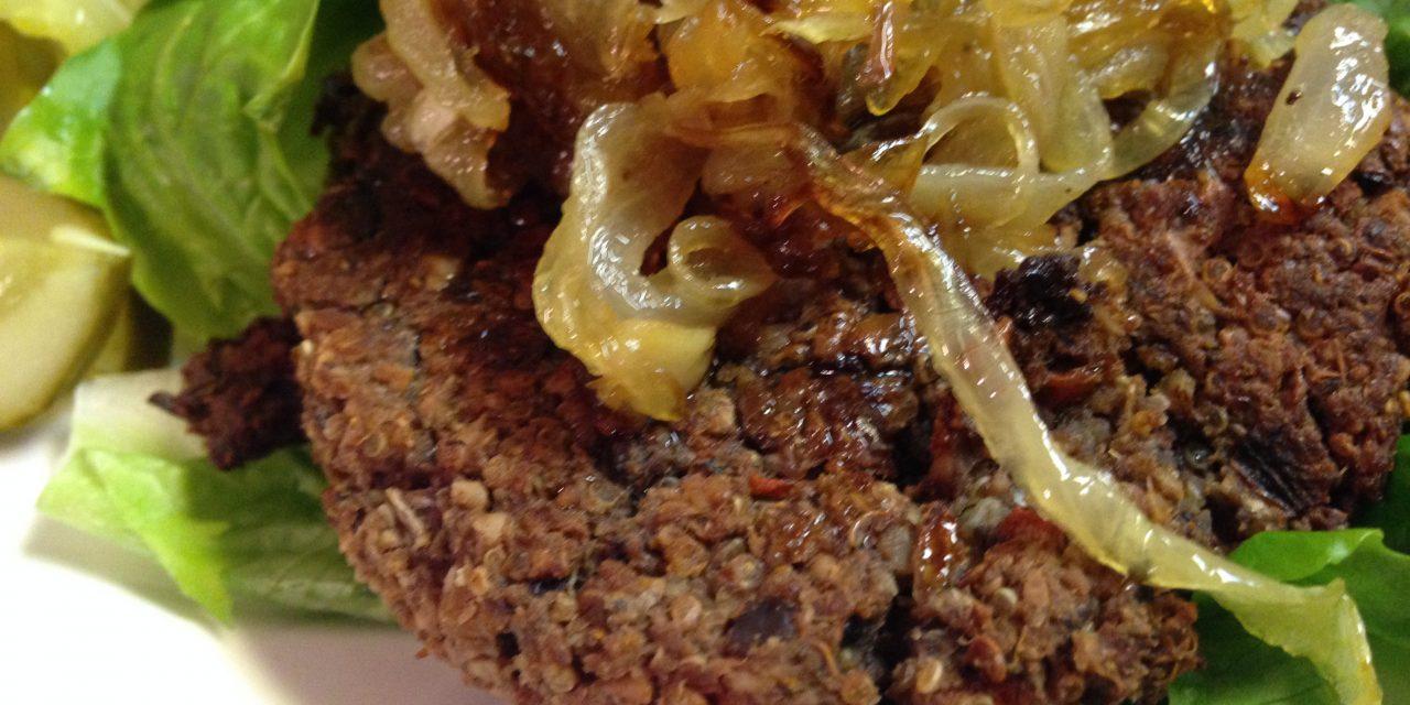 Southwestern Veggie Burgers