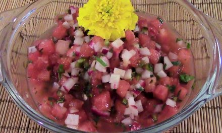 The Month of Salsa: Salsas Frescas