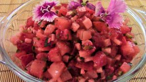 strawberry salsa fresca