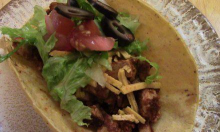 Tofu Chili Tacos