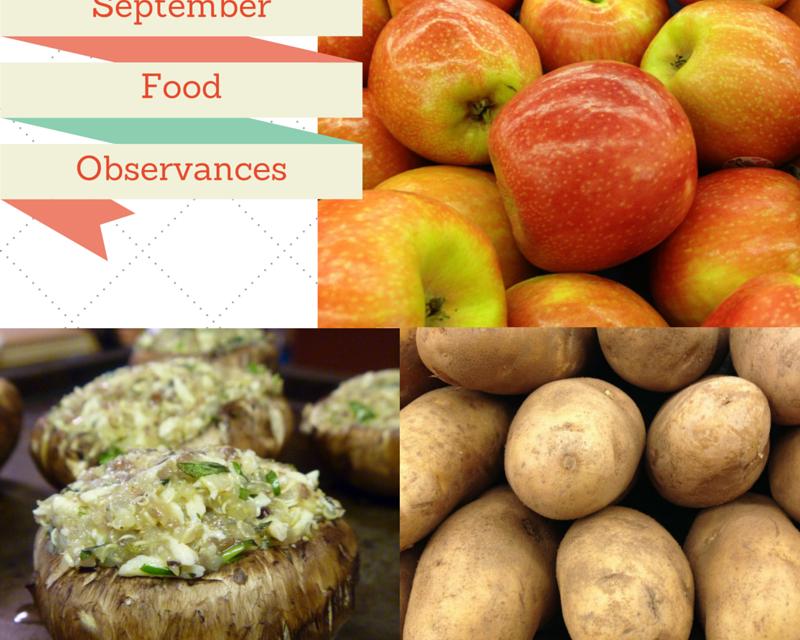 Food Observances in September 2015