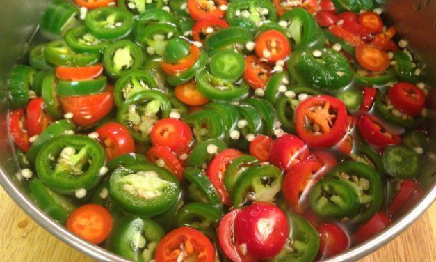 Pickling Jalapenos