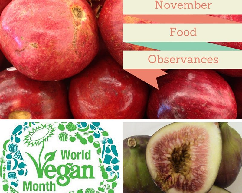 November Food Observances 2015