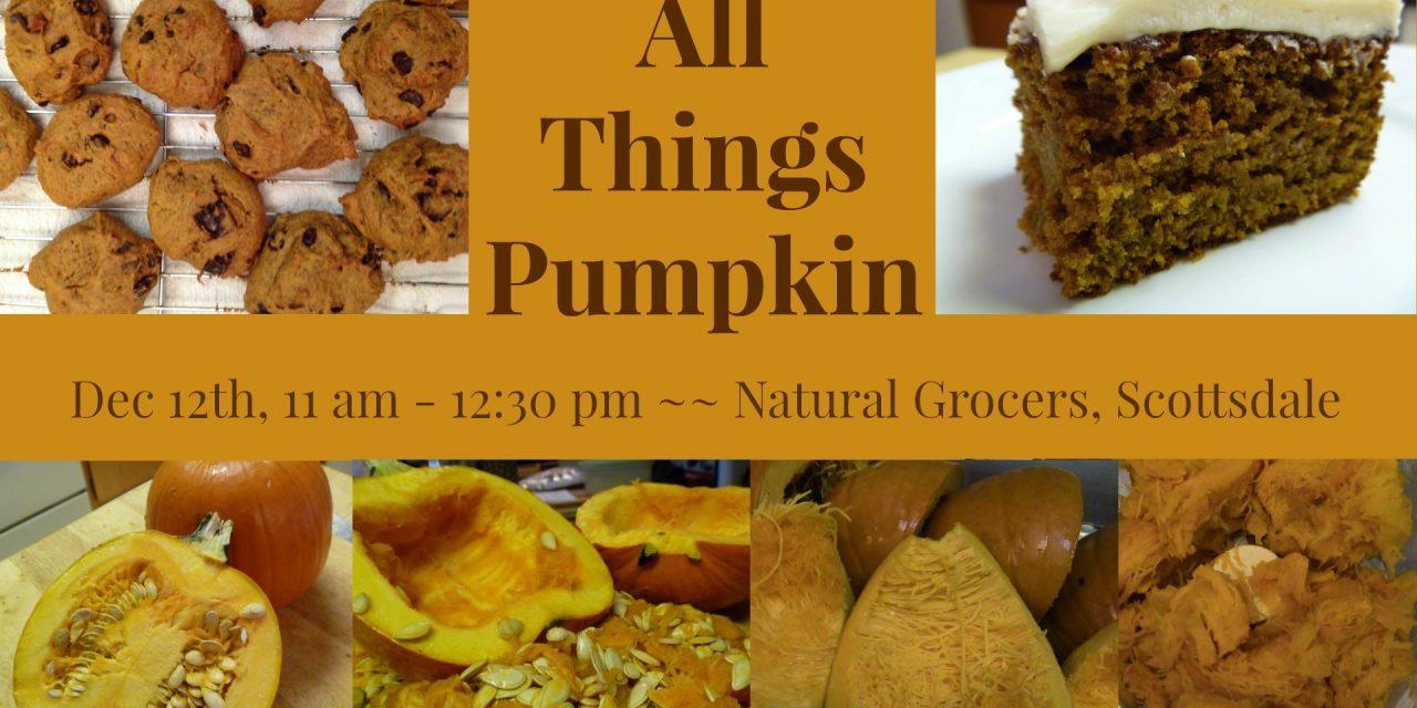 Free Pumpkin Class in Scottsdale