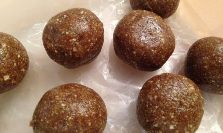 Energy For The Day: Date & Nut Energy Balls