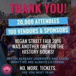 Food and Fun at the Vegan Street Fair 2016