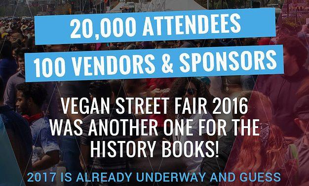Food and Fun at the Vegan Street Fair 2016