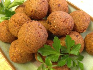 Making Falafel by Kitchen Shaman