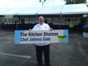 Chef Johnna Gale, AKA the Kitchen Shaman