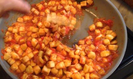 Cooking Vegan for Lent: Eggplant Stew